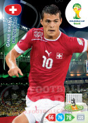 WORLD CUP BRASIL 2014 TEAM MATE Granit Xhaka #301
