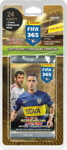 FIFA 365 2016 Adrenalyn XL Panini BLISTER 4+1