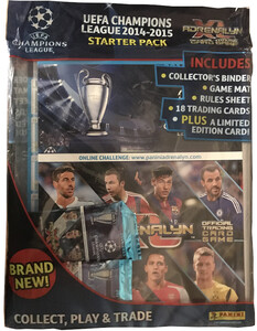CHAMPIONS LEAGUE® 2014/15 MEGA STARTER PACK