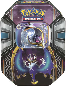 Pokemon TCG Power Tin  Legends of Alola LUNALA GX