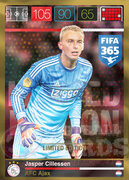 FIFA 365 2016 Panini Adrenalyn XL LIMITED Cillessen