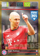 FIFA 365 2016 Panini Adrenalyn XL LIMITED Robben