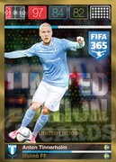 FIFA 365 2016 Panini Adrenalyn XL LIMITED Tinnerholm
