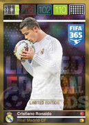 FIFA 365 2016 Panini Adrenalyn XL LIMITED Ronaldo