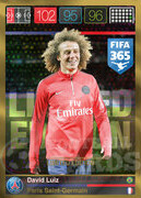 FIFA 365 2016 Panini Adrenalyn XL LIMITED Luiz