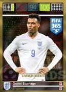 FIFA 365 2016 Panini Adrenalyn XL LIMITED Sturridge