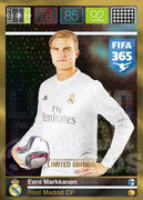 FIFA 365 2016 Panini Adrenalyn XL LIMITED Markkanen