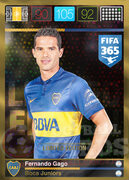 FIFA 365 2016 Panini Adrenalyn XL LIMITED Gago