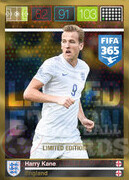 FIFA 365 2016 Panini Adrenalyn XL LIMITED Kane