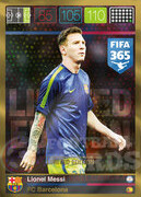 FIFA 365 2016 Panini Adrenalyn XL LIMITED Messi