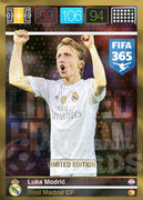 FIFA 365 2016 Panini Adrenalyn XL LIMITED Modrić