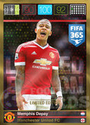 FIFA 365 2016 Panini Adrenalyn XL LIMITED Depay