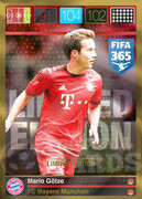 FIFA 365 2016 Panini Adrenalyn XL LIMITED Gotze