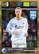 FIFA 365 2016 Panini Adrenalyn XL LIMITED Jorgensen