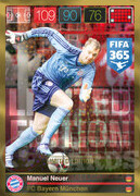 FIFA 365 2016 Panini Adrenalyn XL LIMITED Neuer