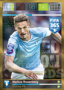 FIFA 365 2016 Panini Adrenalyn XL LIMITED Rosenberg