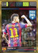 FIFA 365 2016 Panini Adrenalyn XL LIMITED Neymar Jr.
