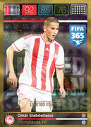 FIFA 365 2016 Panini Adrenalyn XL LIMITED Elabdellaoui