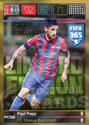 FIFA 365 2016 Panini Adrenalyn XL LIMITED Papp