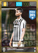 FIFA 365 2016 Panini Adrenalyn XL LIMITED Pogba