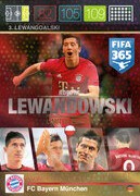 FIFA 365 2016 Panini Adrenalyn XL LIMITED Lewandowski