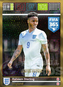 FIFA 365 2016 Panini Adrenalyn XL LIMITED Sterling