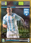 FIFA 365 2016 Panini Adrenalyn XL LIMITED Aguero