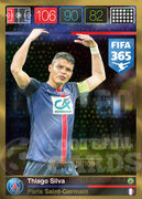 FIFA 365 2016 Panini Adrenalyn XL LIMITED Silva