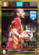 FIFA 365 2016 Panini Adrenalyn XL LIMITED Sneijder