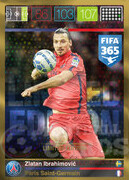 FIFA 365 2016 Panini Adrenalyn XL LIMITED Ibrahimovic