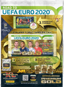 ROAD TO EURO 2020 saszetka PREMIUM GOLD