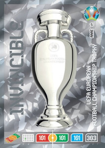 EURO 2020 RARE / INVINCIBLE  UEFA Euro 2020 Trophy 5