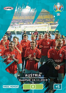 EURO 2020 MAGIC MOMENT Austria #13