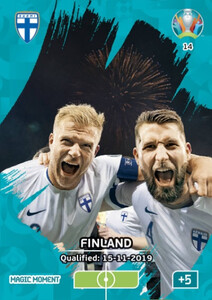 EURO 2020 MAGIC MOMENT Finland #14