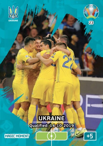 EURO 2020 MAGIC MOMENT Ukraine #23