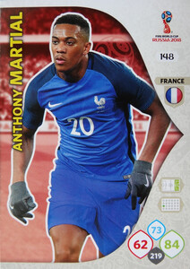WORLD CUP RUSSIA 2018 TEAM MATE FRANCJA MARTIAL 148