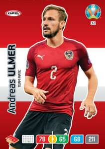 EURO 2020 TEAM MATE Andreas Ulmer #32