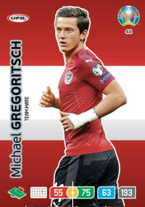 EURO 2020 TEAM MATE Michael Gregoritsch #44