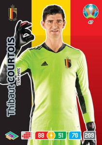 EURO 2020 TEAM MATE Thibaut Courtois #47