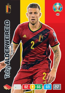 EURO 2020 TEAM MATE Toby Alderweireld #48