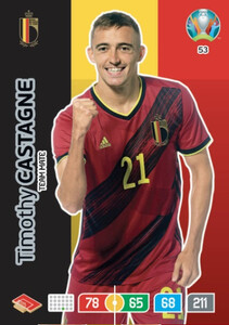 EURO 2020 TEAM MATE Timothy Castagne #53