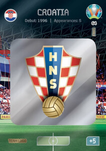 EURO 2020 TEAM LOGO Croatia #64