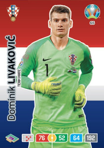 EURO 2020 TEAM MATE Dominik Livaković #65