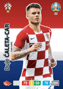 EURO 2020 TEAM MATE Duje Caleta-Car #69