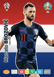 EURO 2020 TEAM MATE Marcelo Brozović #71
