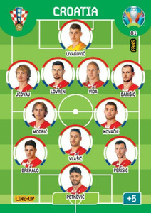 EURO 2020 LINE-UP Croatia #81