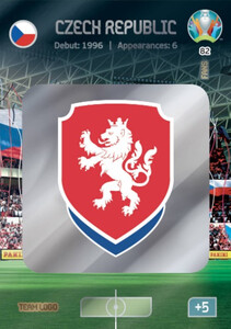 EURO 2020 TEAM LOGO Czech Republic #82