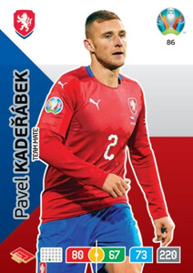 EURO 2020 TEAM MATE Pavel Kaderabek #86