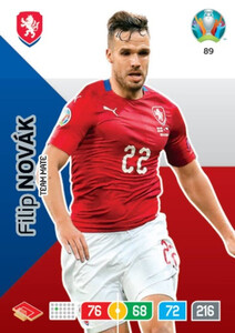 EURO 2020 TEAM MATE Filip Novak #89