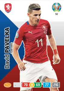 EURO 2020 TEAM MATE David Pavelka #92